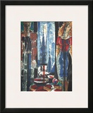 Interieur Flamand Print by Marcel Gromaire