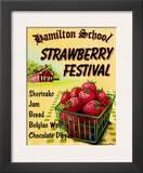 Strawberry Festival Art by Catherine Jones