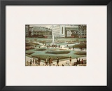 Piccadilly Gardens Prints by Laurence Stephen Lowry