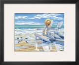 Seaside II Prints by Kathleen Denis
