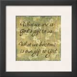 What We Are Prints by Karen Tribett