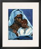 Black Madonna and Child Art by  Ballenger