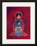 Au Coeur de Maman Posters by Marie-pierre Emorine