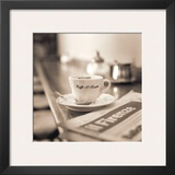 Caffe, Firenze Posters by Alan Blaustein