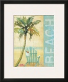 Ocean Beach I Prints by Daphne Brissonnet