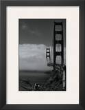 Golden Gate Fog Prints by Sabri Irmak