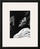 Dinah Washington Print by Ted Williams