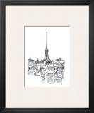Eiffel Tower Print by Avery Tillmon