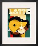 Cubist Latte Posters by Eli Adams