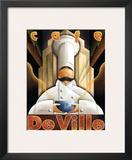 Cafe de Ville Art by Michael L. Kungl