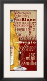 White Wine Print by Lisa Wolk