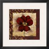 Pansy Print by Richard Henson