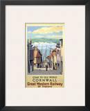 Old World Cornwall Prints