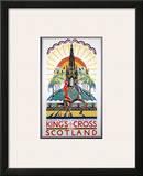 King's Cross for Scotland, LNER, c.1923-1947 Art