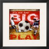 Big Play: Soccer Posters by Robert Downs