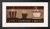 Coffee Print by Jennifer Pugh