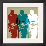 Guitarists Prints by Stella Bradley