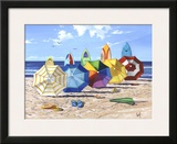 Brellas And Boards Prints by Scott Westmoreland