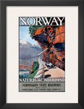 Norwegian State Railways Posters