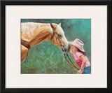 The First Kiss Prints by June Dudley
