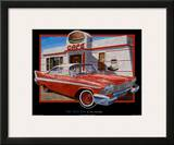 The Cafe Car Print by Don Stambler