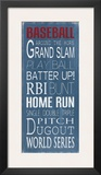 Baseball Print by Holly Stadler