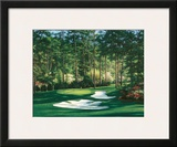 The 10th At Augusta Print by Larry Dyke