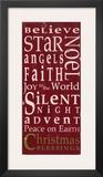 Christmas Blessings Prints