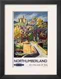 Northumberland, BR, c.1948-1965 Posters