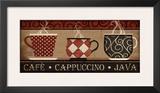 Cappuccino Cafe Prints by Jennifer Pugh