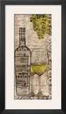White Wine Prints by Lisa Wolk