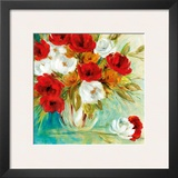 Vibrant Bouquet I Posters by Carol Robinson