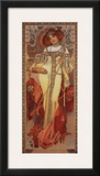 Automne, 1900 Print by Alphonse Mucha