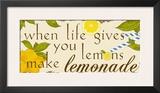 Lemonade Prints by Anna Quach