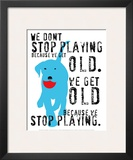 Don't Stop Playing Prints by Ginger Oliphant