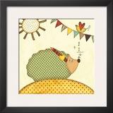 Hedgehog Math Prints by Jo Moulton