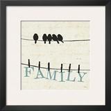 Bird Talk III Prints