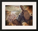 Cowboy Reason 4 Prints by Shawnda Eva