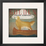 Golden Dog Canoe Co. Prints by Ryan Fowler