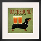 Dachshund Brewing Co. Posters by Ryan Fowler