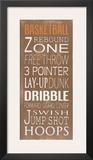 Basketball Prints by Holly Stadler