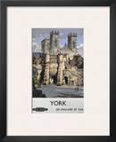 York, See England by Rail Prints