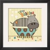 Tiny Bubbles Prints by Jo Moulton