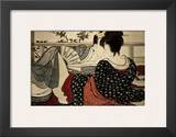 The Lovers Prints by Kitagawa Utamaro