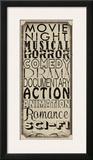 Movie Night Posters by Lisa Wolk