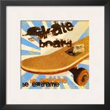 Skateboard Posters by Jo Moulton
