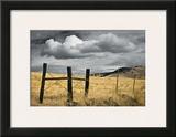 Siskiyou County Landscape Framed Giclee Print by David Winston
