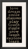 Love, Dream, Smile Posters