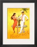 Caracus-Venezuela Poster by David Marrocco