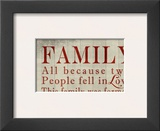 Family Sentiments Posters by Lisa Wolk